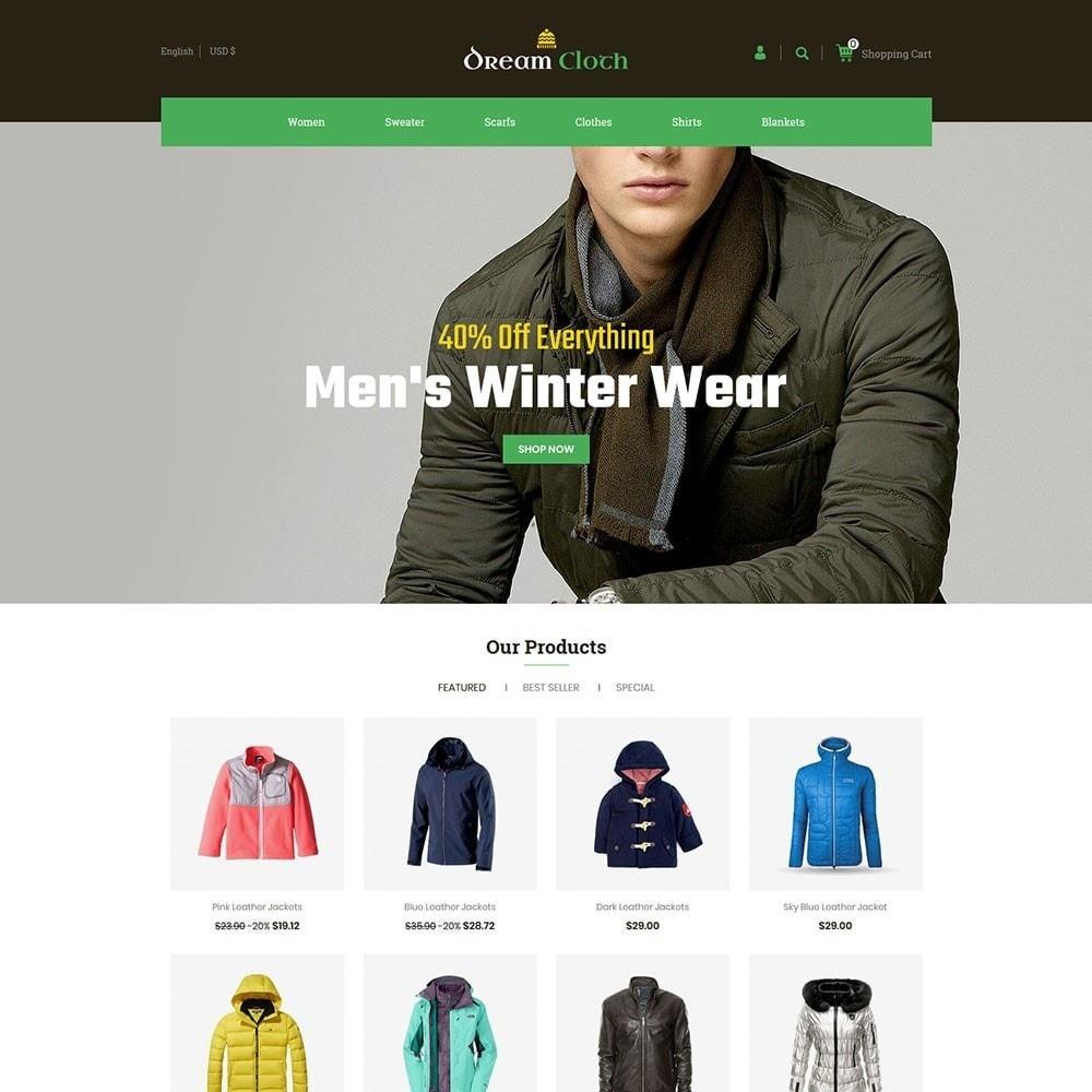 theme - Mode & Schuhe - Dream Cloth Store - 2