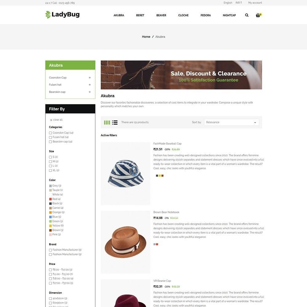 theme - Moda & Obuwie - Lady Bag  Store - 4