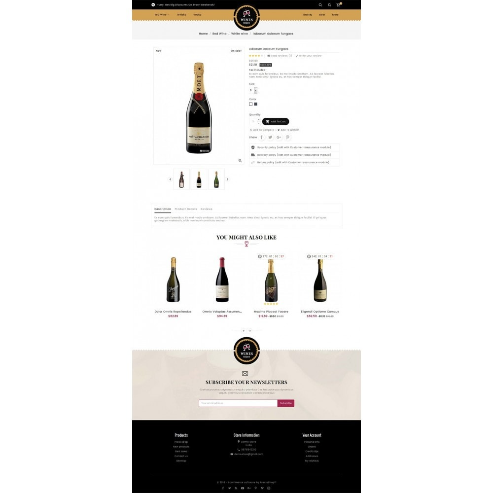 theme - Getränke & Tabak - WineYard Store - 6