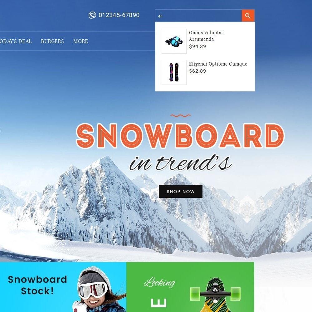 theme - Sport, Aktivitäten & Reise - Ski & Snow Boards - 10