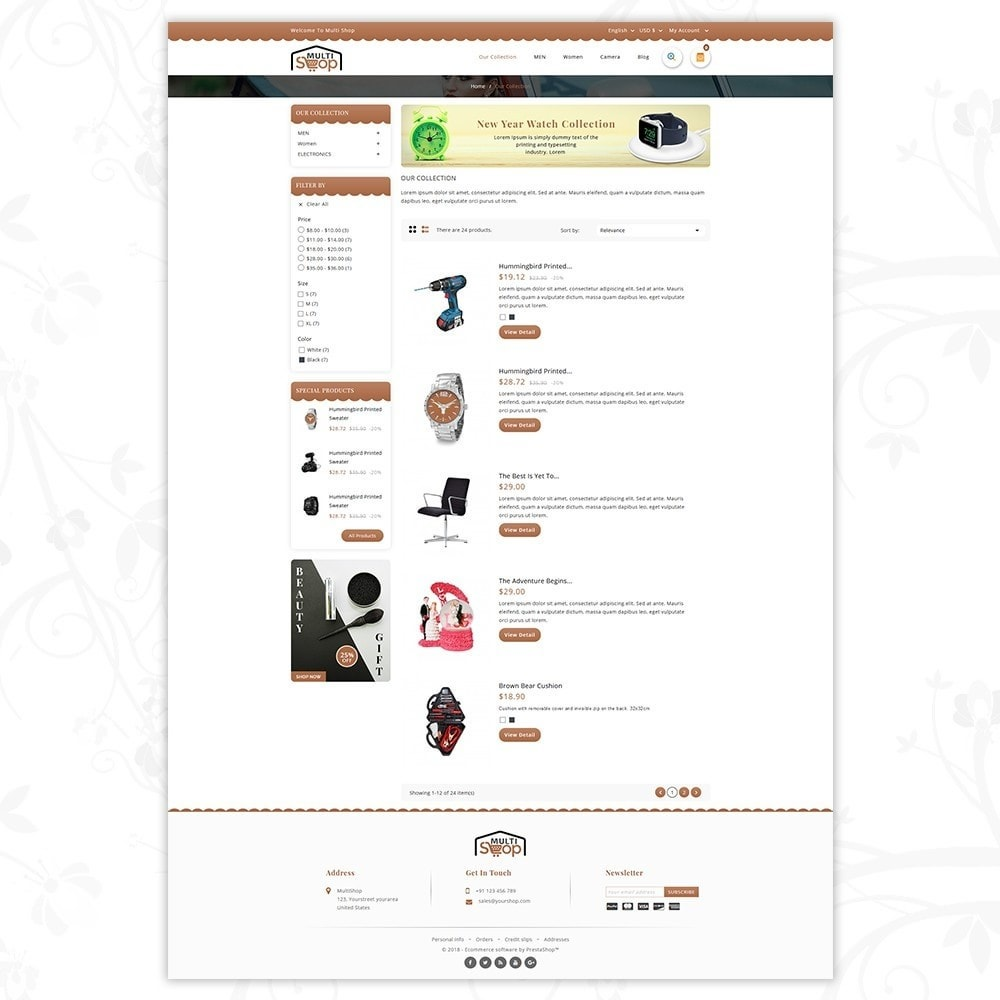 theme - Moda y Calzado - MultiShop - Multi Store - 4