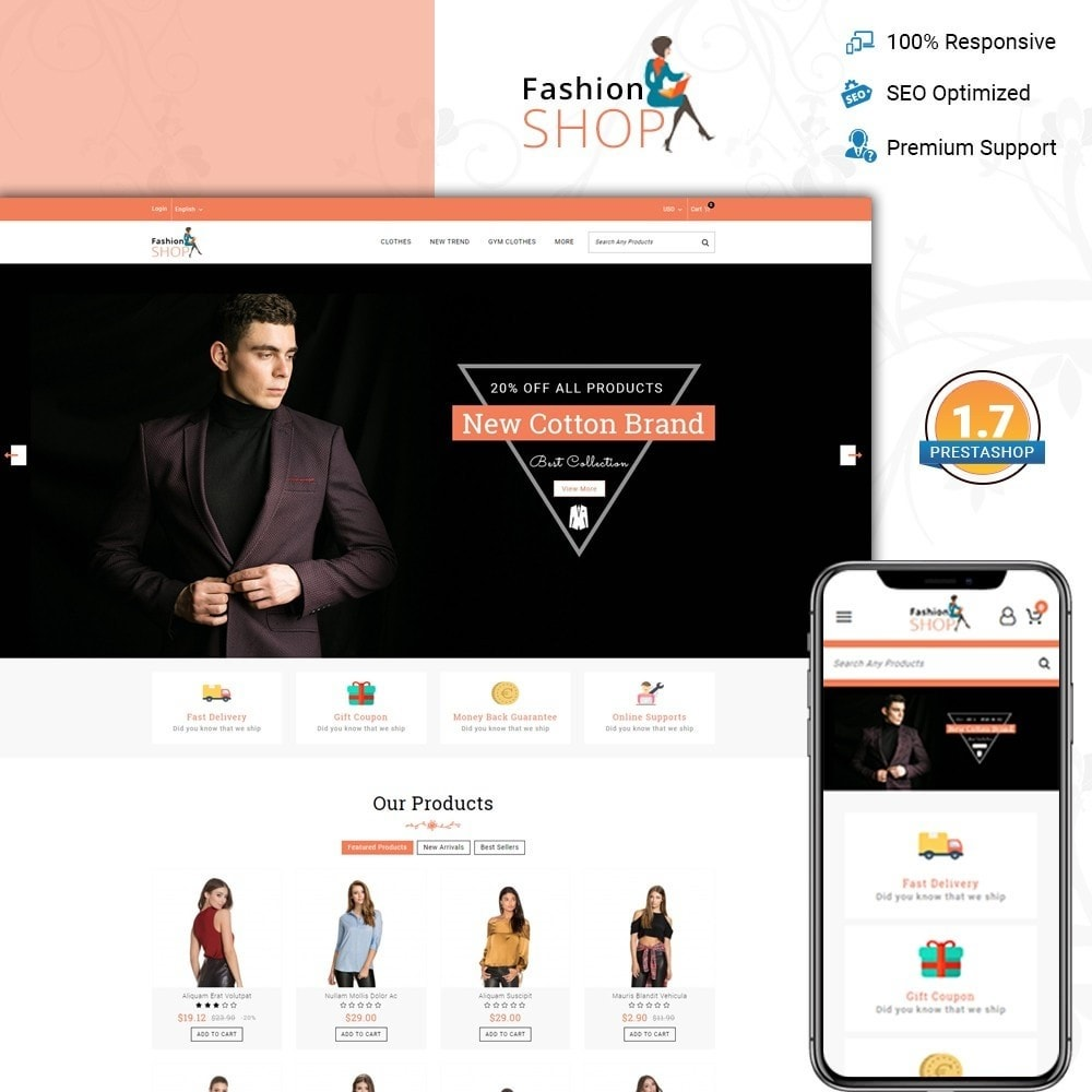theme - Мода и обувь - Fashion Shop - Multipurpose Store - 1
