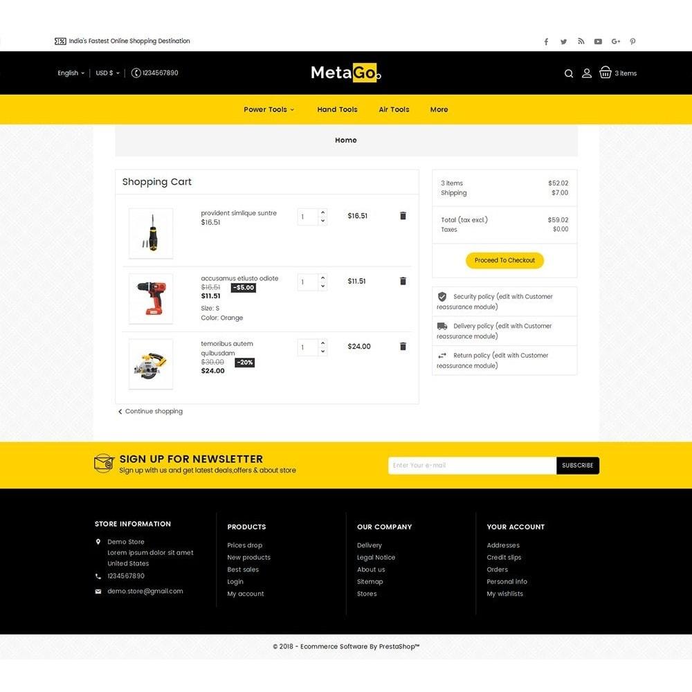 theme - Heim & Garten - Melano Power Tools - 7