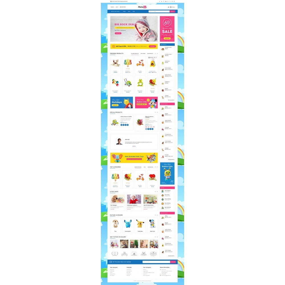 theme - Enfants & Jouets - Melano Kids Toys - 3