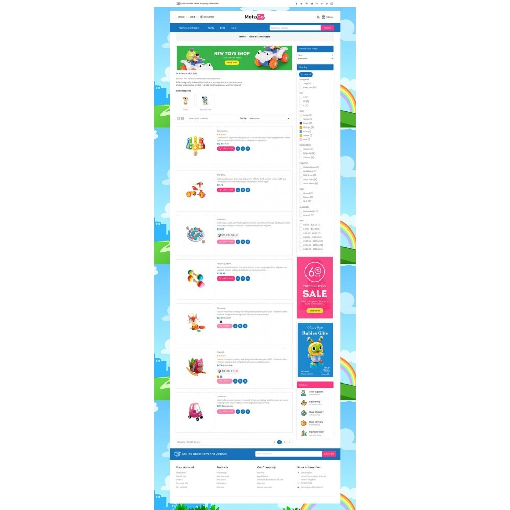 theme - Kinder & Spielzeug - Melano Kids Toys - 5