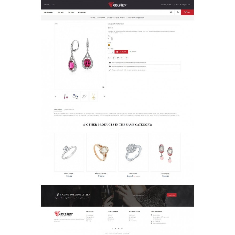 theme - Bijoux & Accessoires - Jewelry Store - 6