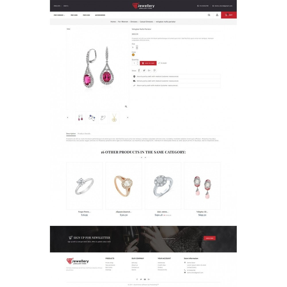 theme - Bellezza & Gioielli - Jewelry Store - 6