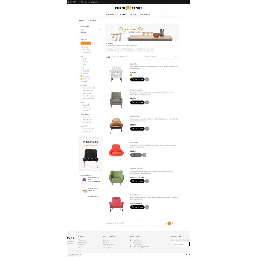 theme - Maison & Jardin - Furniture Store - 5