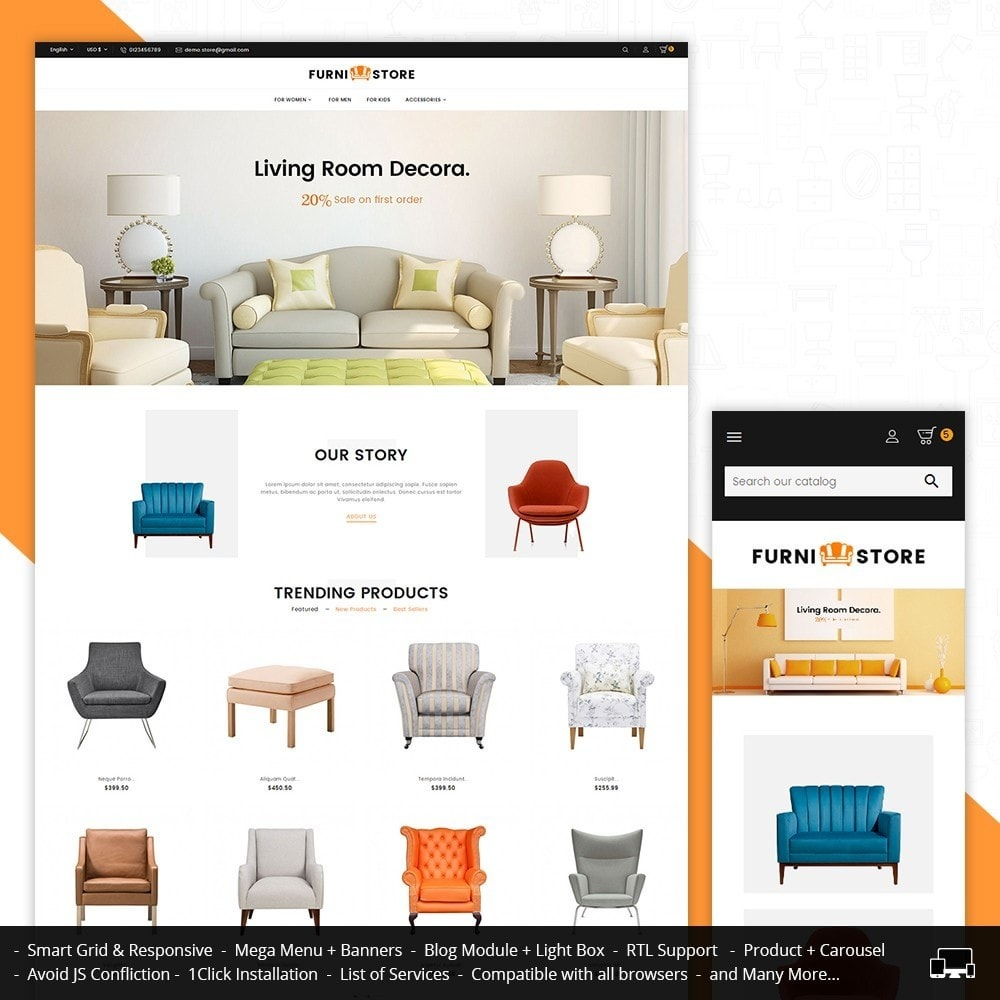 theme - Heim & Garten - Furniture Store - 2