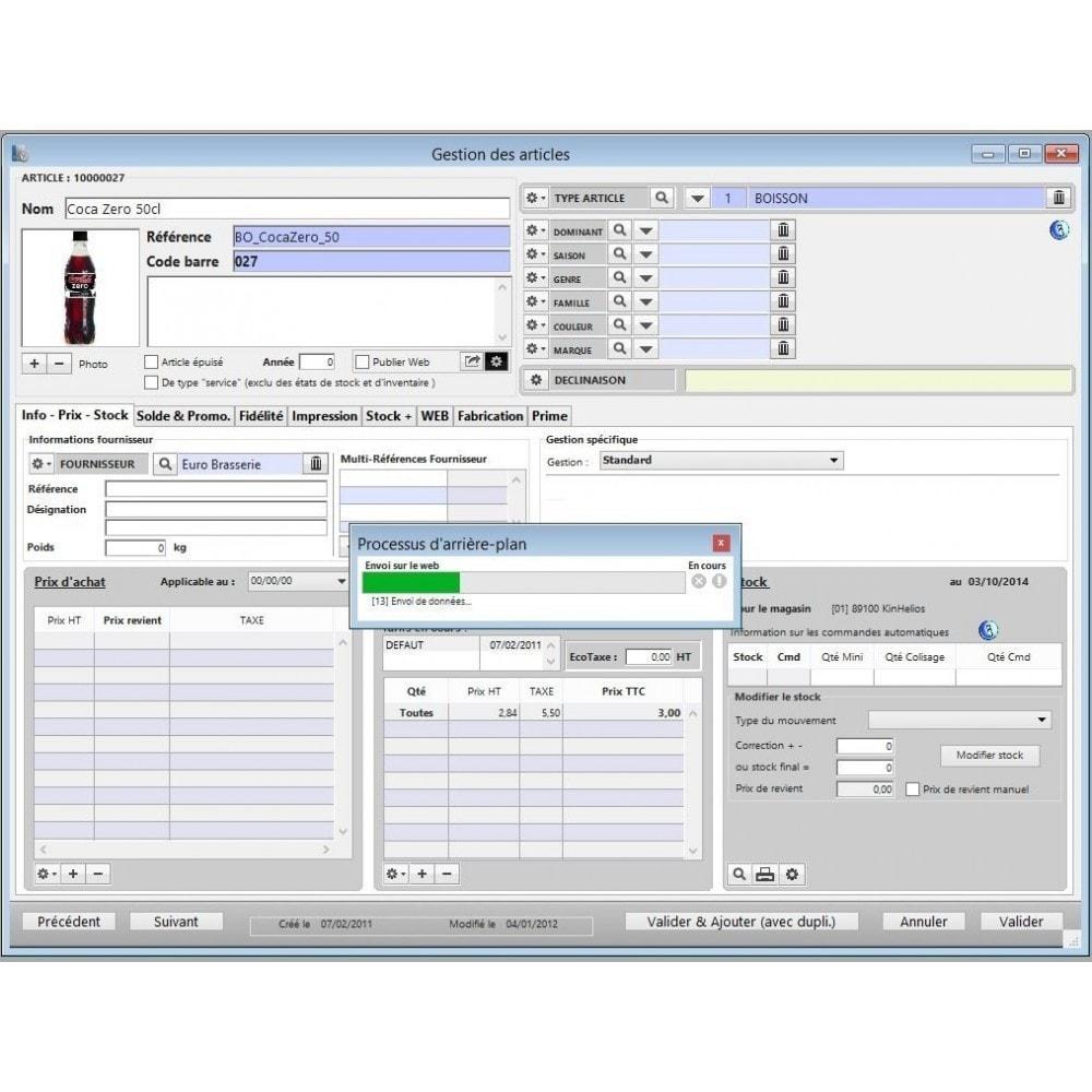 module - Zarządzanie zapasami &  Dostawcy - KinTPV Connect V8 - 2