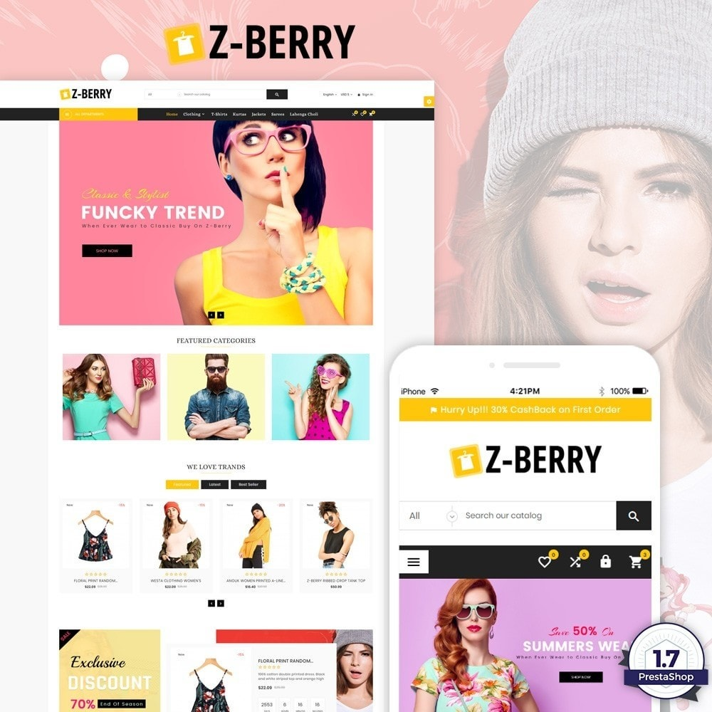 Z-Berry - Fashion and Cloth Super Store