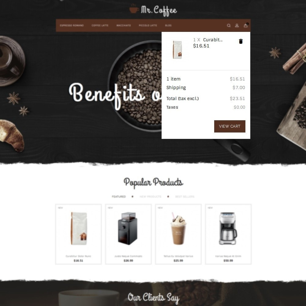 theme - Drink & Tobacco - MrCoffee Store - 7