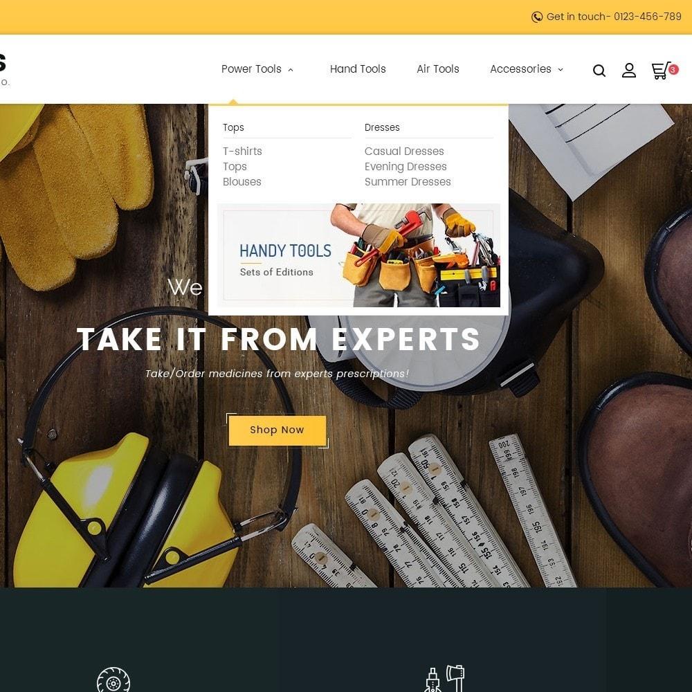theme - Hogar y Jardín - Construction Tools Store - 10