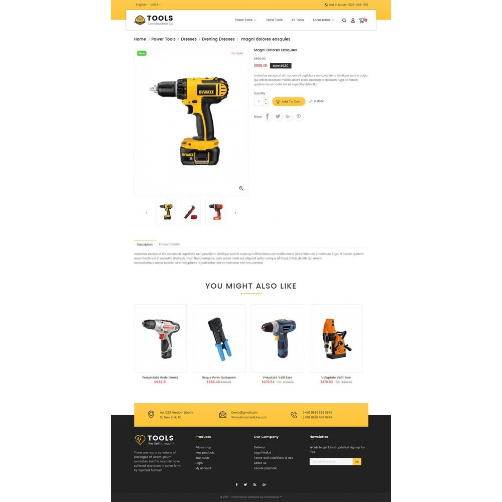 theme - Heim & Garten - Construction Tools Store - 6
