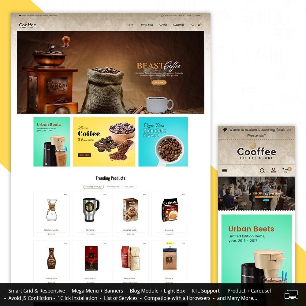 theme - Boissons & Tabac - Cold Coffee Store - 2