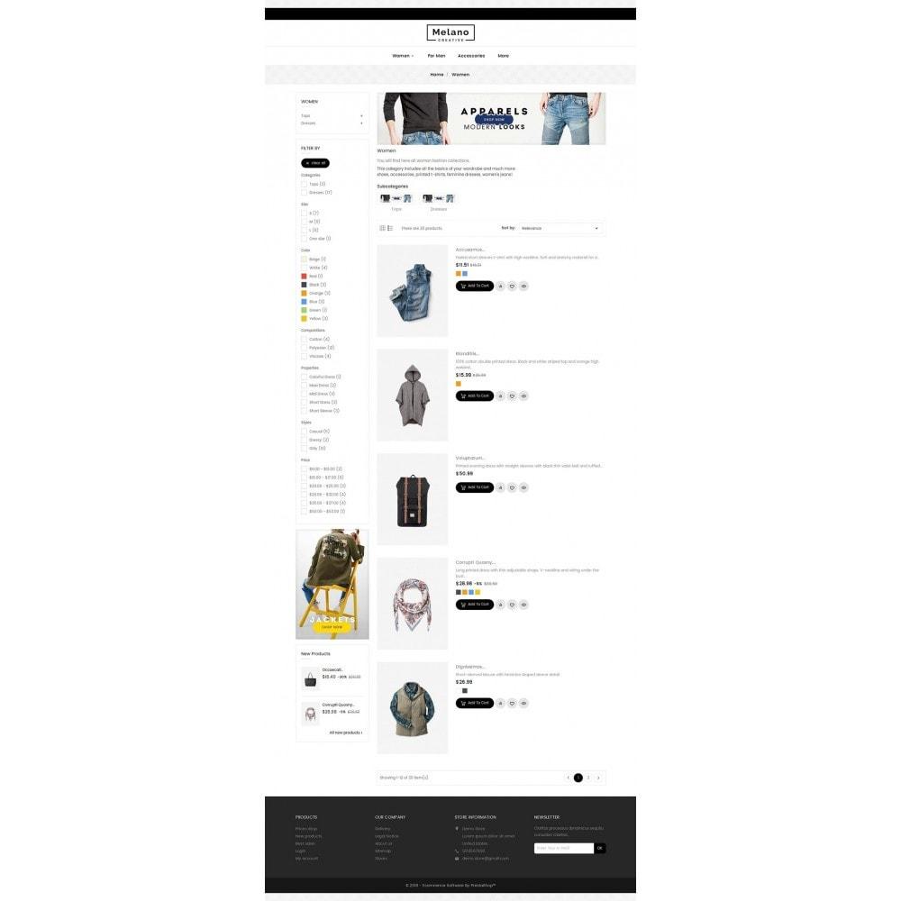 theme - Mode & Chaussures - Melano Creative Fashion - 5