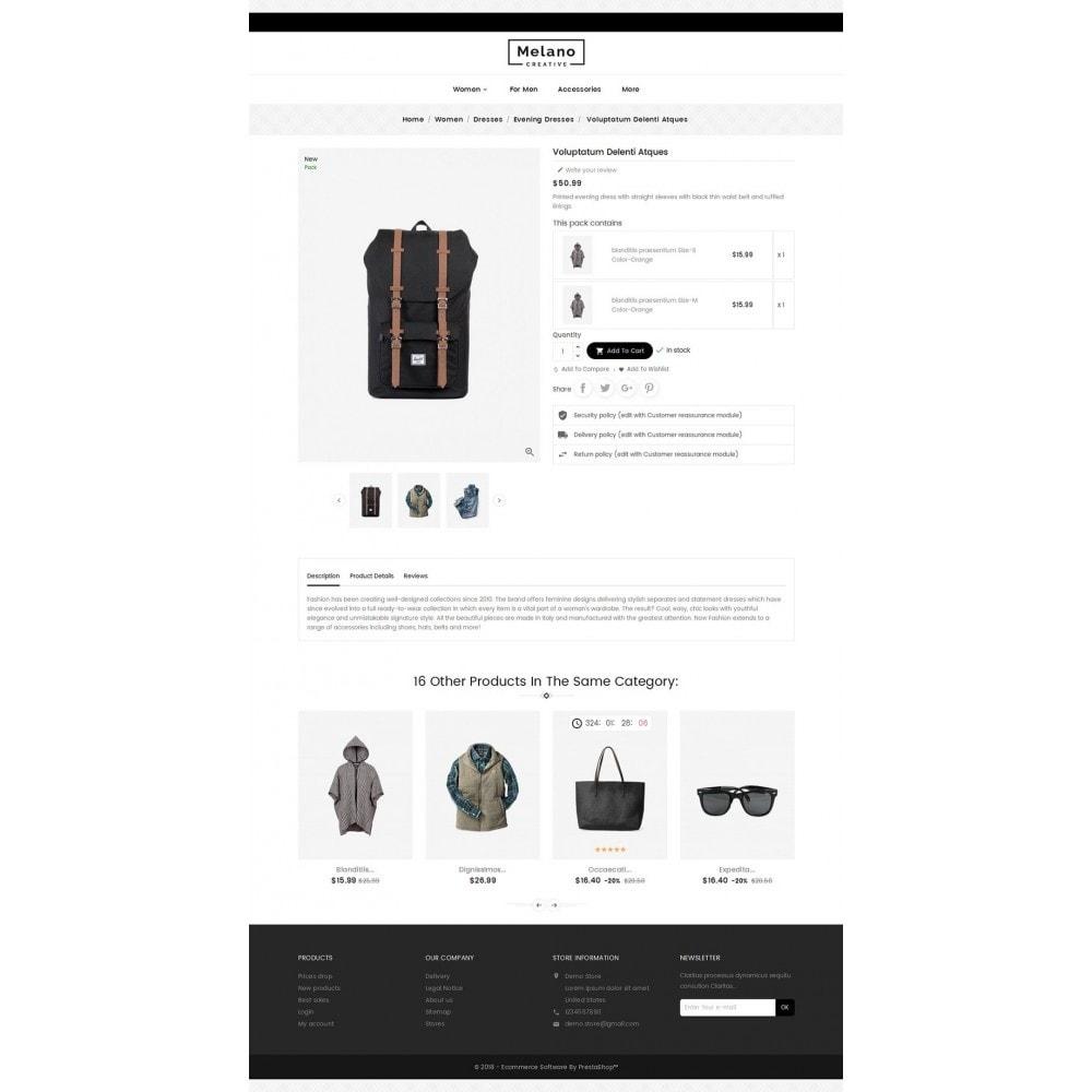 theme - Mode & Chaussures - Melano Creative Fashion - 6