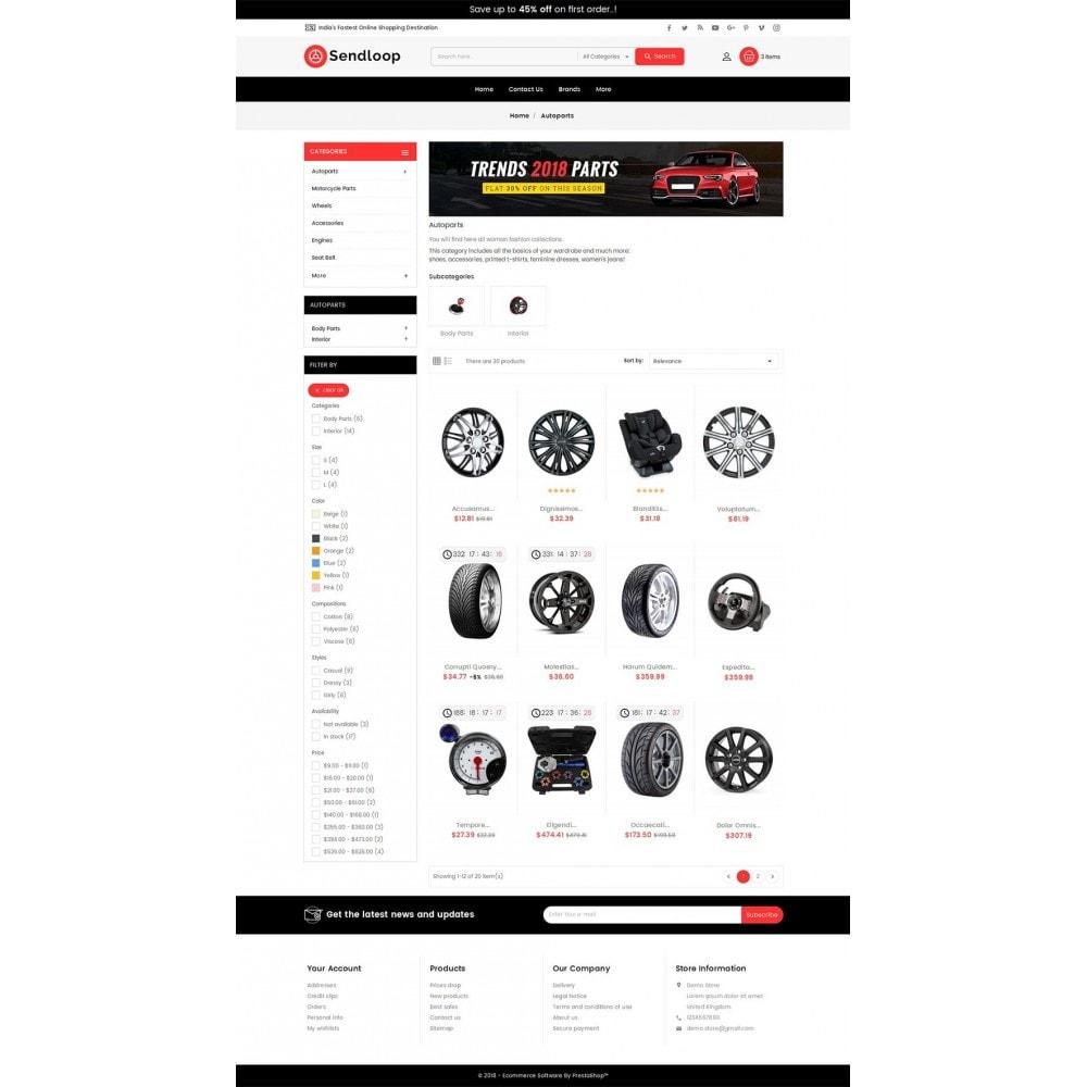 theme - Coches y Motos - Melano Auto Parts Loop - 4
