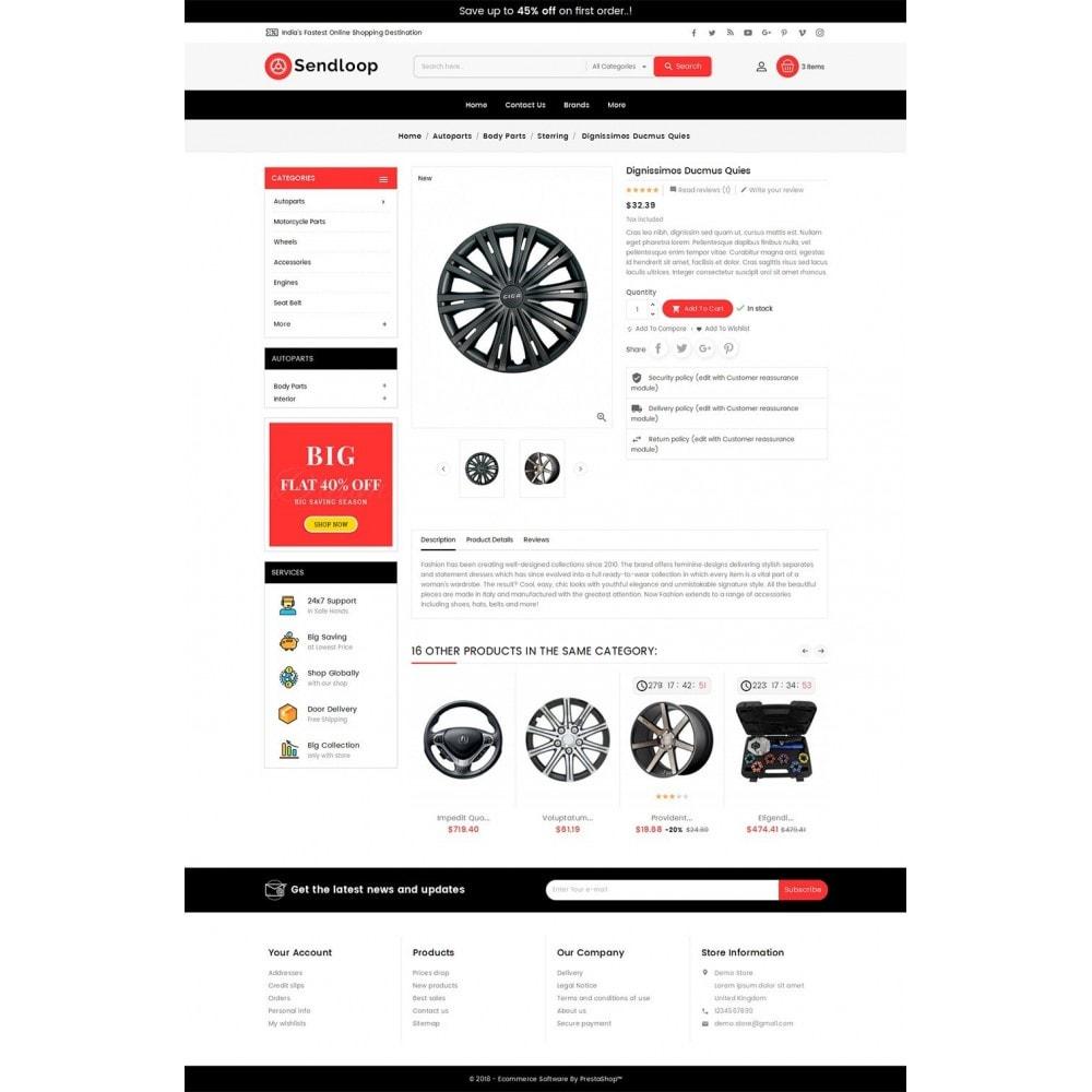 theme - Autos & Motorräder - Melano Auto Parts Loop - 6