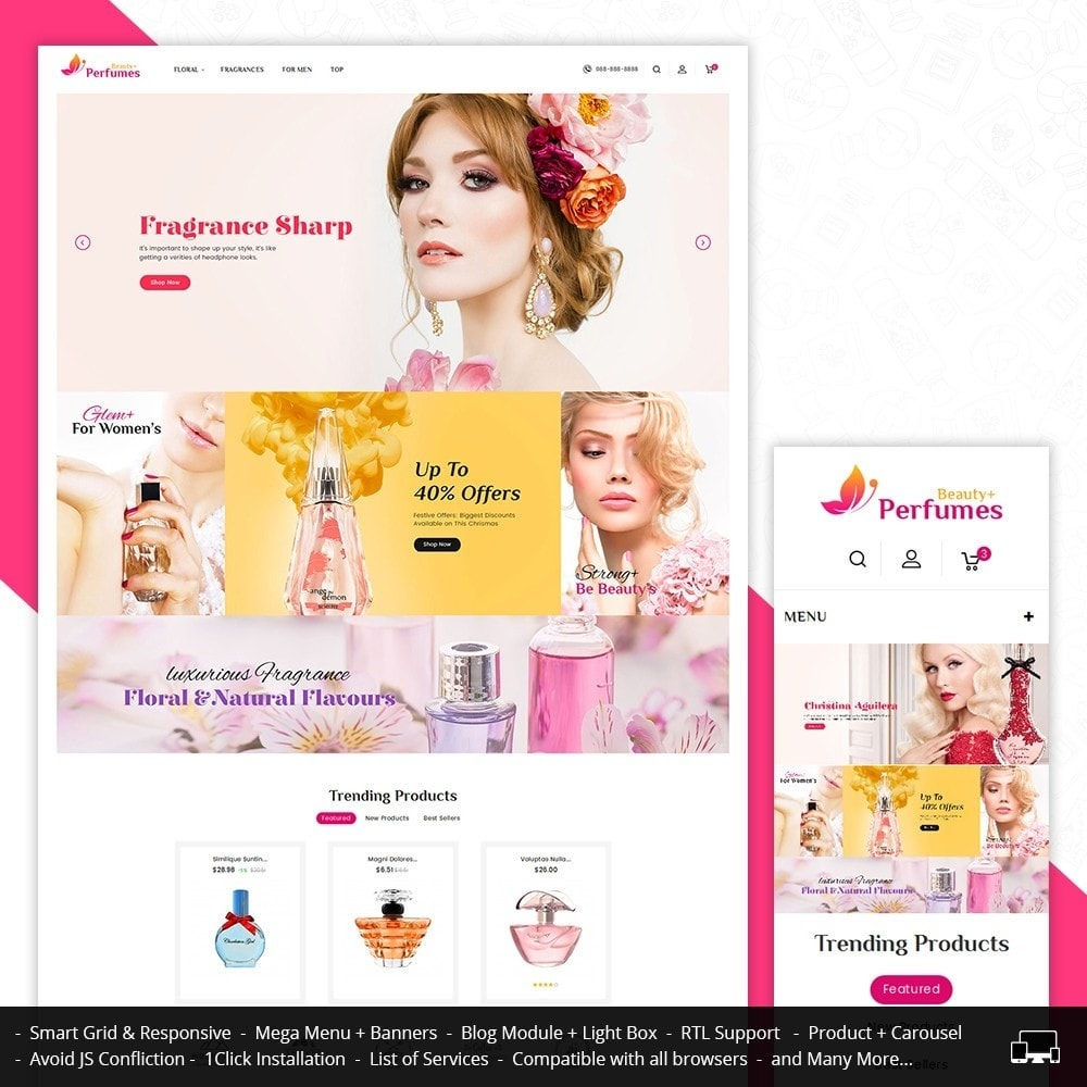 theme - Salute & Bellezza - Beauty Perfume Store - 2