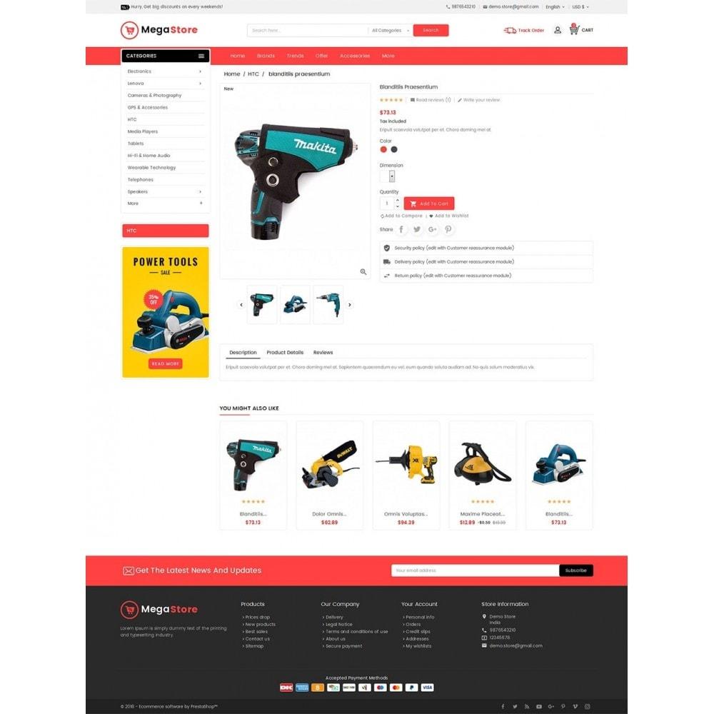 theme - Electronique & High Tech - Mega Power Tools Store - 6