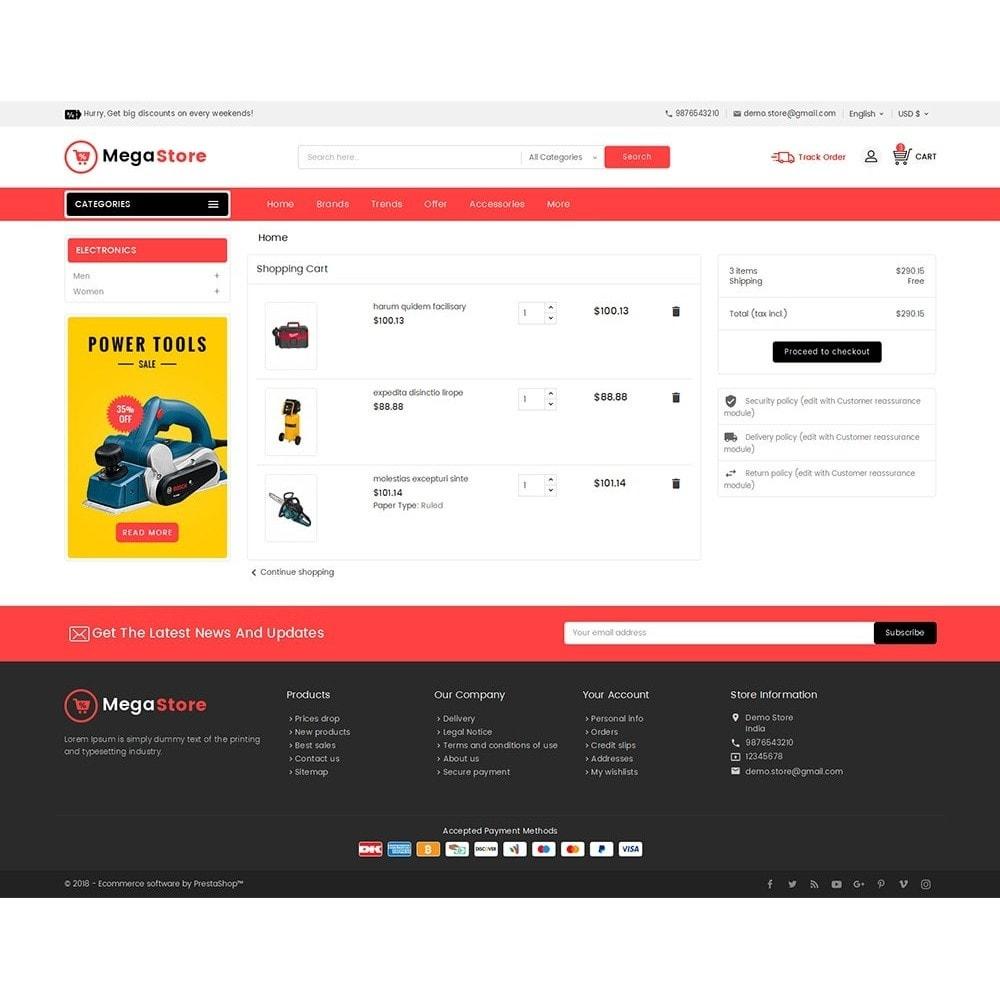theme - Electronique & High Tech - Mega Power Tools Store - 7