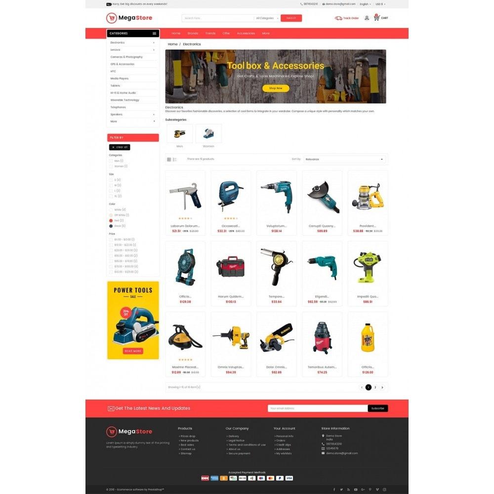 theme - Elektronik & High Tech - Mega Power Tools Store - 4