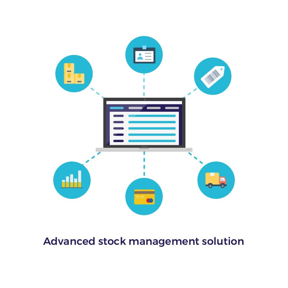 module - Gestión de Stock y de Proveedores - Boostmyshop ERP - Advanced Stock - 1