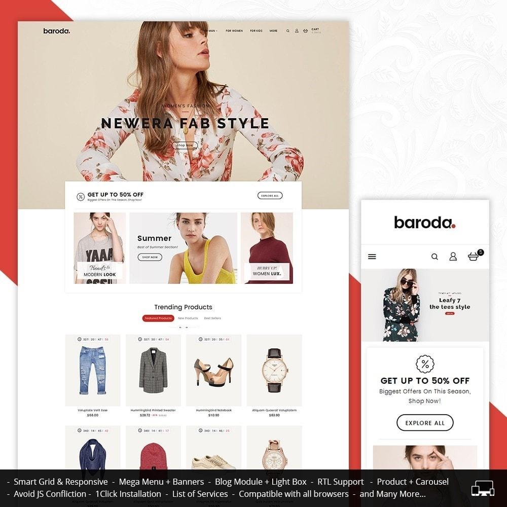 theme - Moda & Calçados - Baroda Fabrics - 1