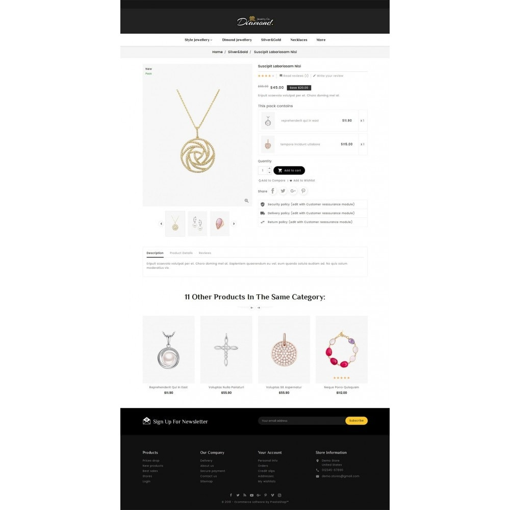 theme - Bellezza & Gioielli - Diamond Jewelry - 5