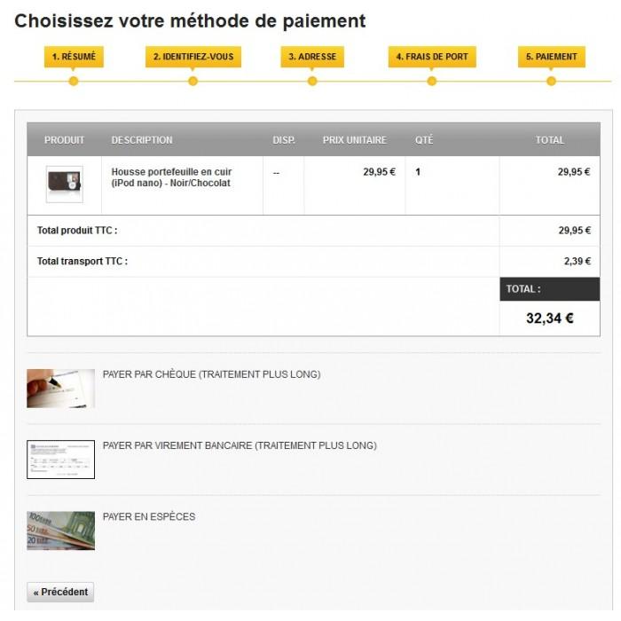 module - Payment in Physical Stores - Cash Payment / Paiement Espèces - 3