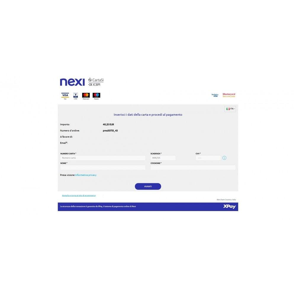 module - Pagamento con Carta di Credito o Wallet - Pos CartaSi Nexi X-Pay - QuiPago Keyclient - Avanzato - 5