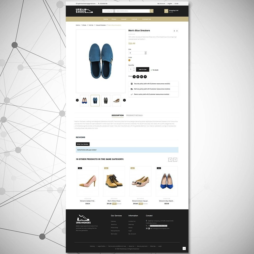 theme - Mode & Chaussures - Magasin de chaussures Urban - 6