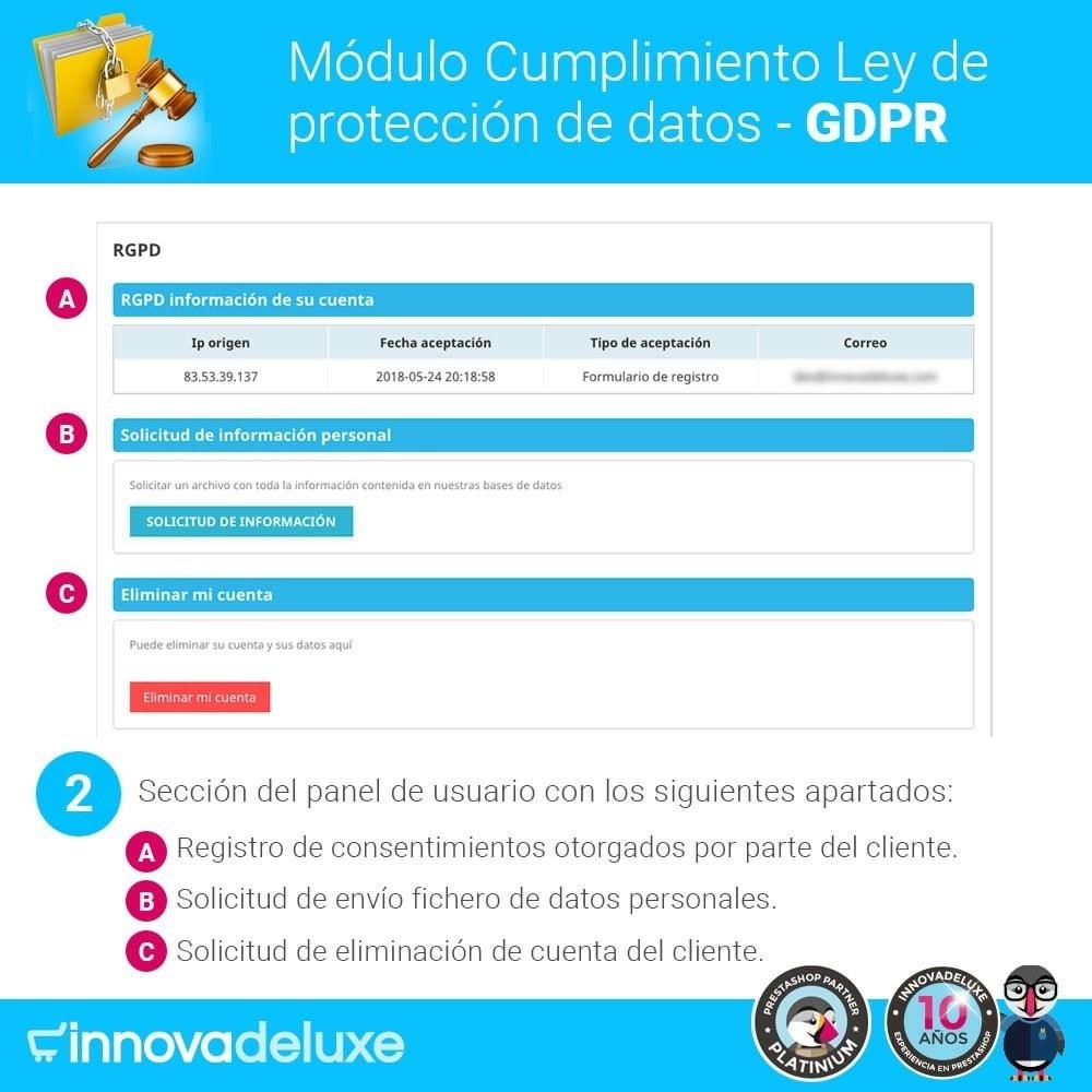 bundle - Marco Legal (Ley Europea) - Cumplimiento normativas legales RGPD, Cookies - 3