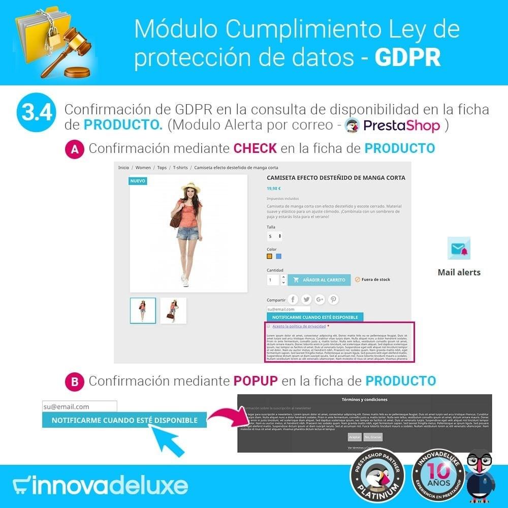 module - Marco Legal (Ley Europea) - Cumplimiento Ley de protección de datos - RGPD - 7