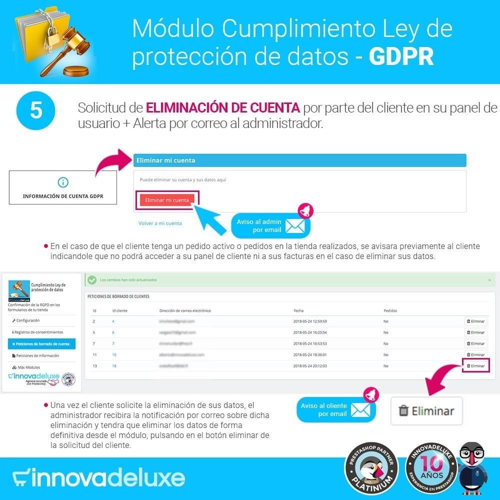 bundle - Marco Legal (Ley Europea) - Cumplimiento normativas legales RGPD, Cookies - 10