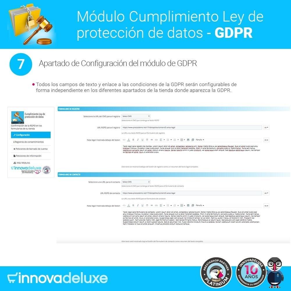bundle - Marco Legal (Ley Europea) - Cumplimiento normativas legales RGPD, Cookies - 13