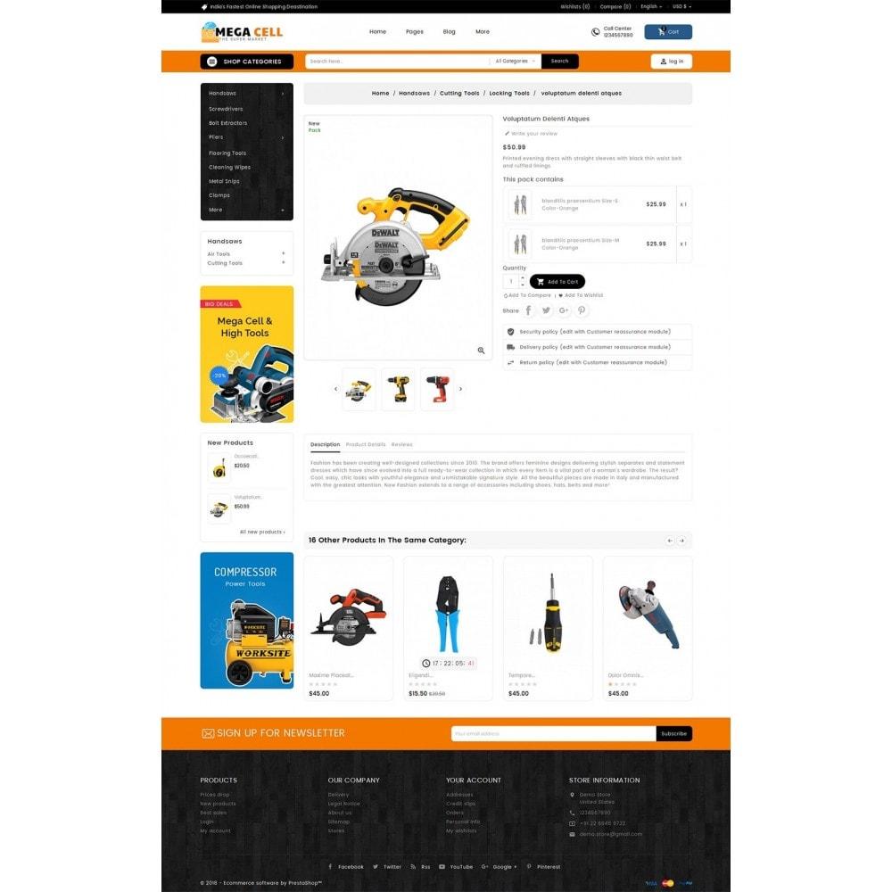 theme - Maison & Jardin - Mega Cell Tools Equipment - 6