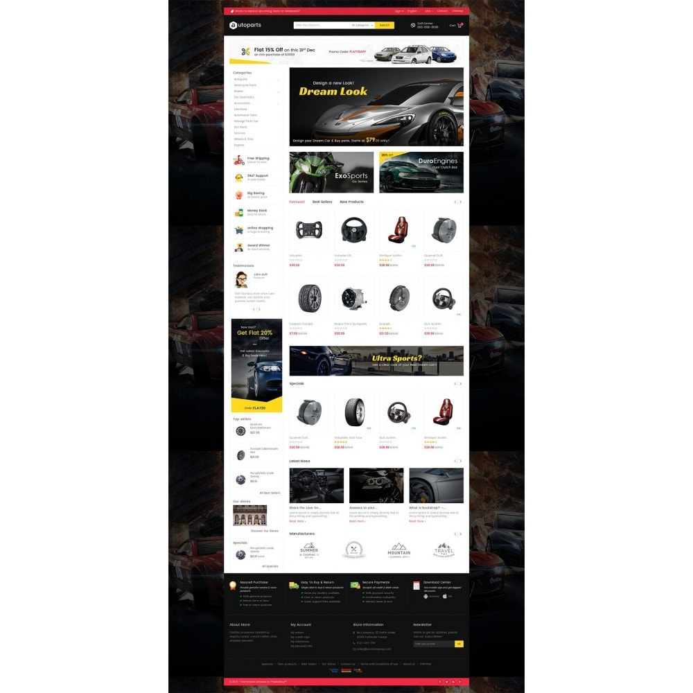 theme - Auto & Moto - Mega Auto Parts - 3