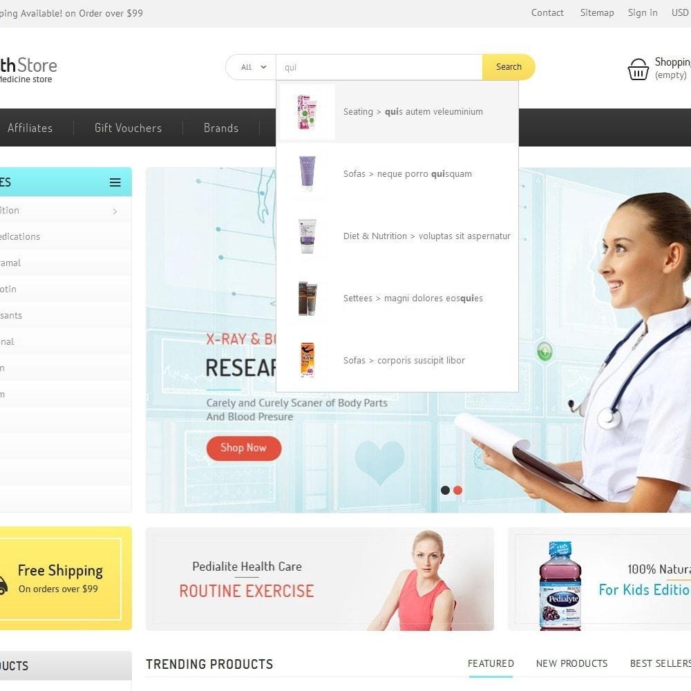 theme - Gesundheit & Schönheit - Medicine Store - 9