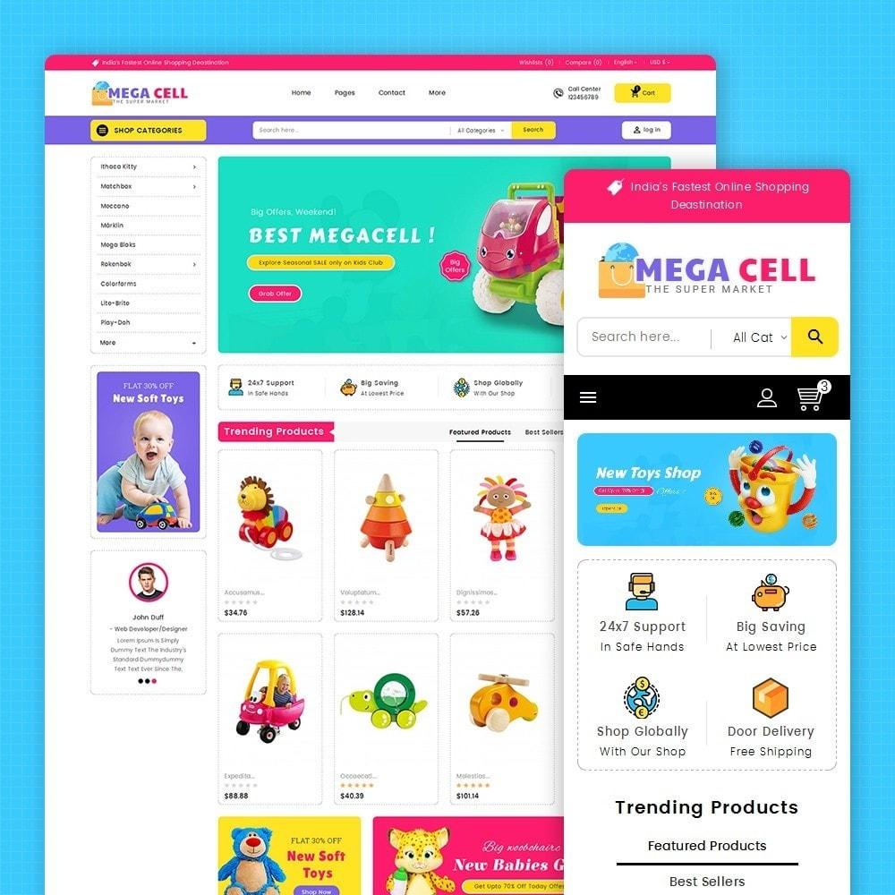 Mega Cell Kid Toys