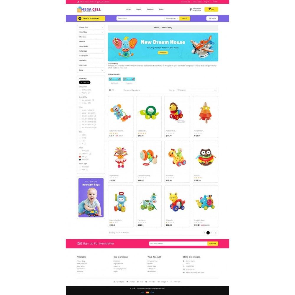 theme - Bambini & Giocattoli - Mega Cell Kid Toys - 4