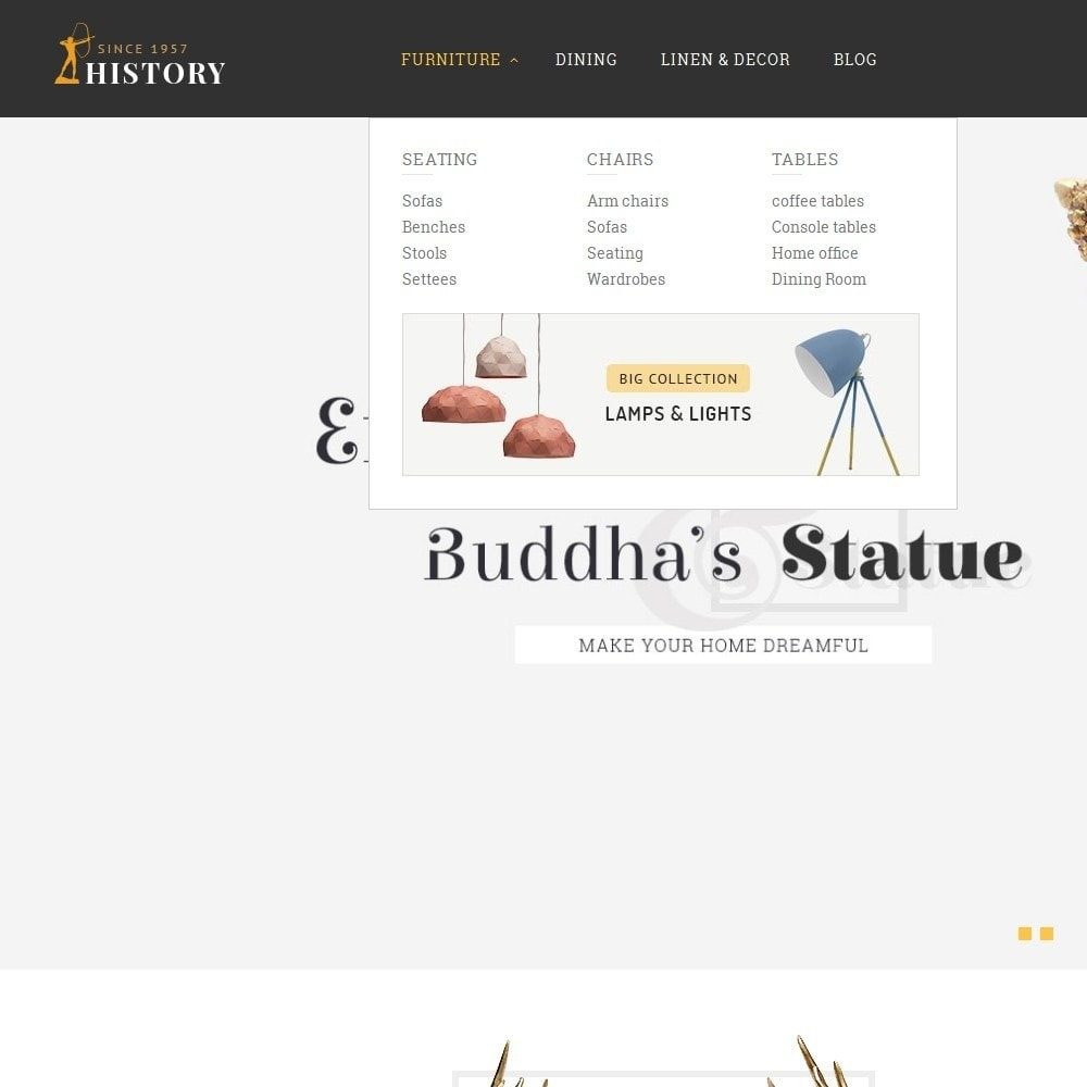 theme - Art & Culture - History/Statue Store - 8
