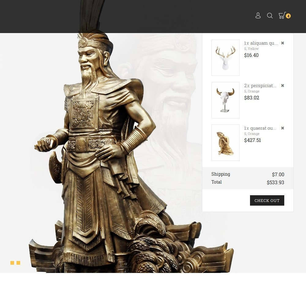 theme - Arte & Cultura - History/Statue Store - 9