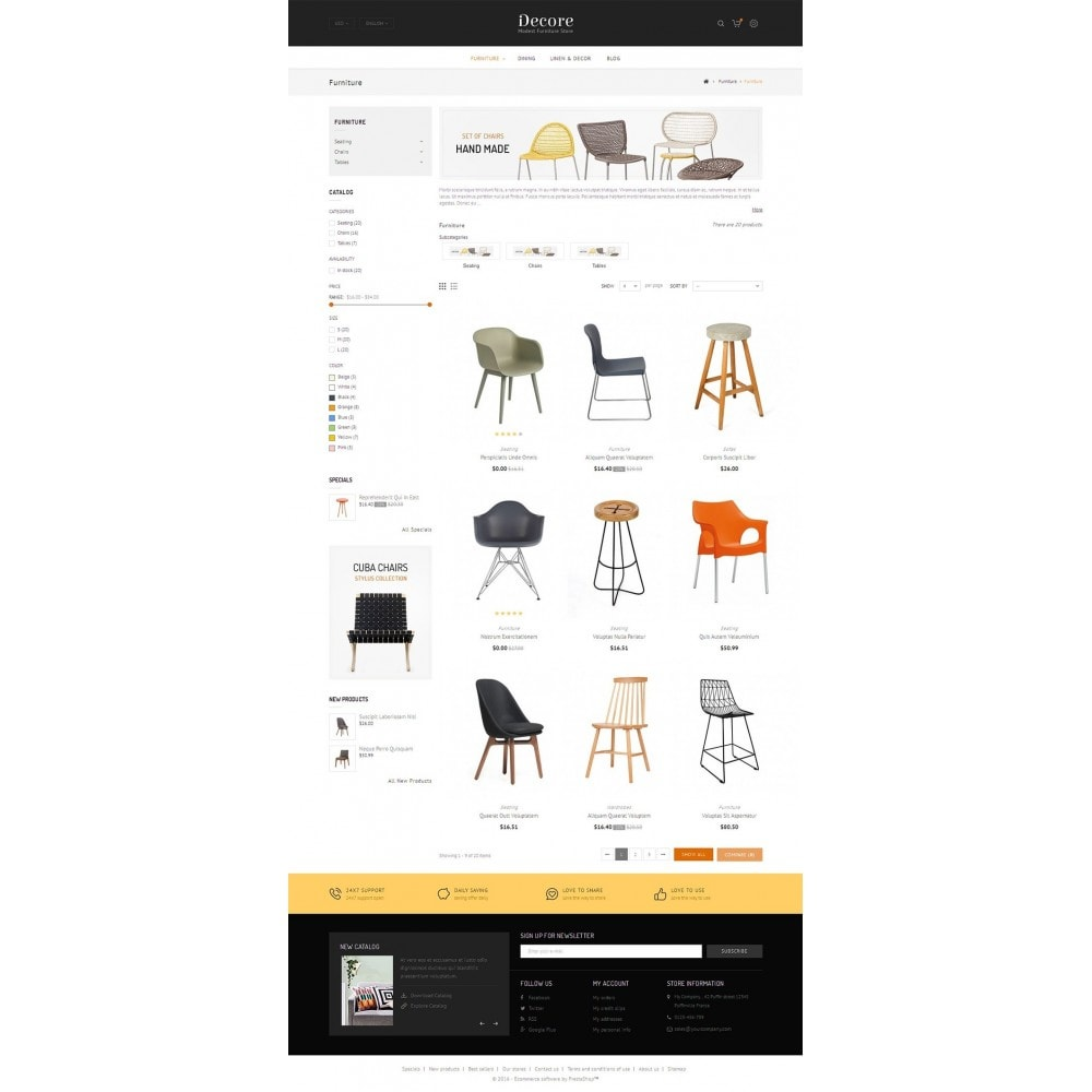 theme - Hogar y Jardín - Decore - Modest Furniture Store - 3