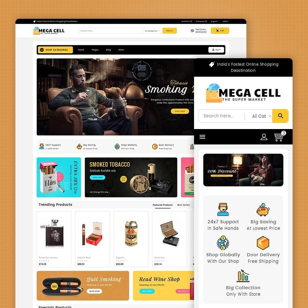theme - Bebidas y Tabaco - Mega Cell Cigar Tobacco - 2