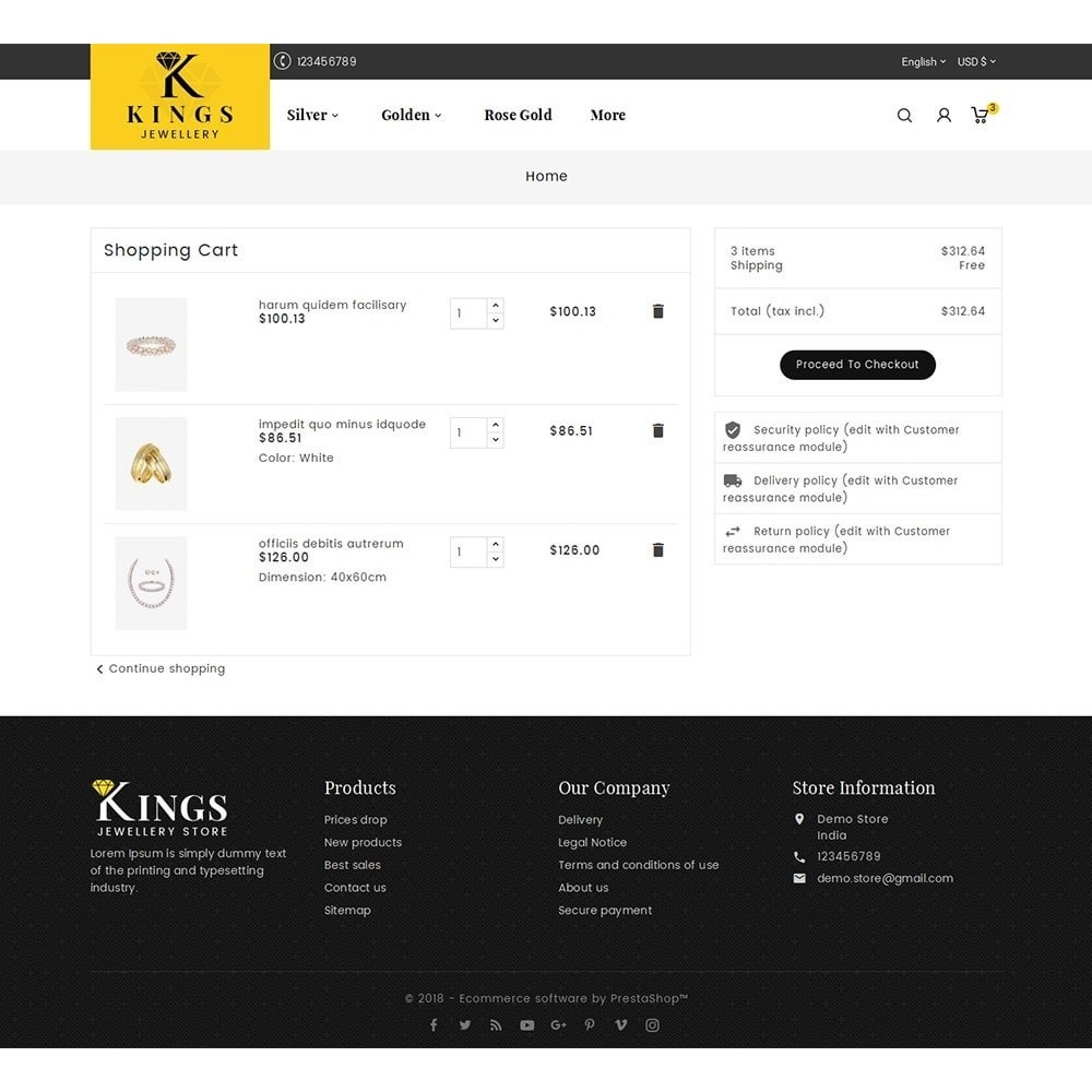 theme - Schmuck & Accesoires - Kings Jewelry - 7