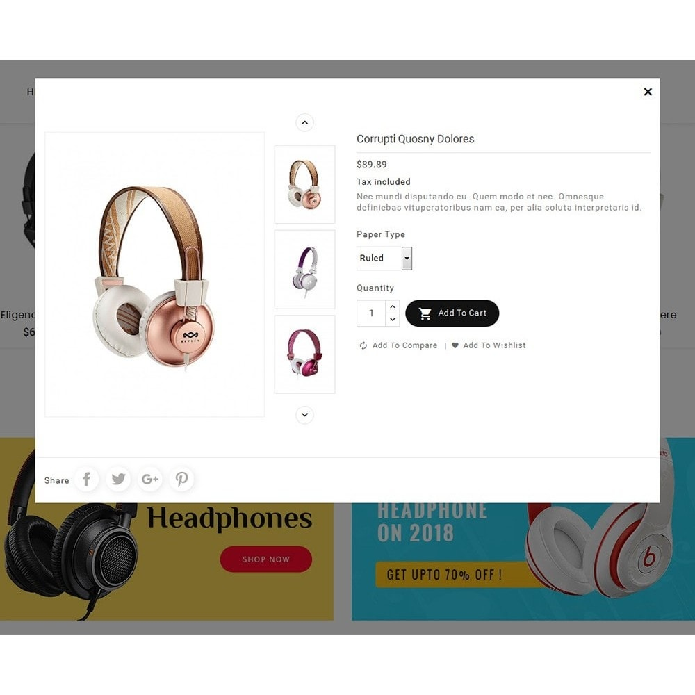 theme - Electronique & High Tech - Headphone & Speakers - 8