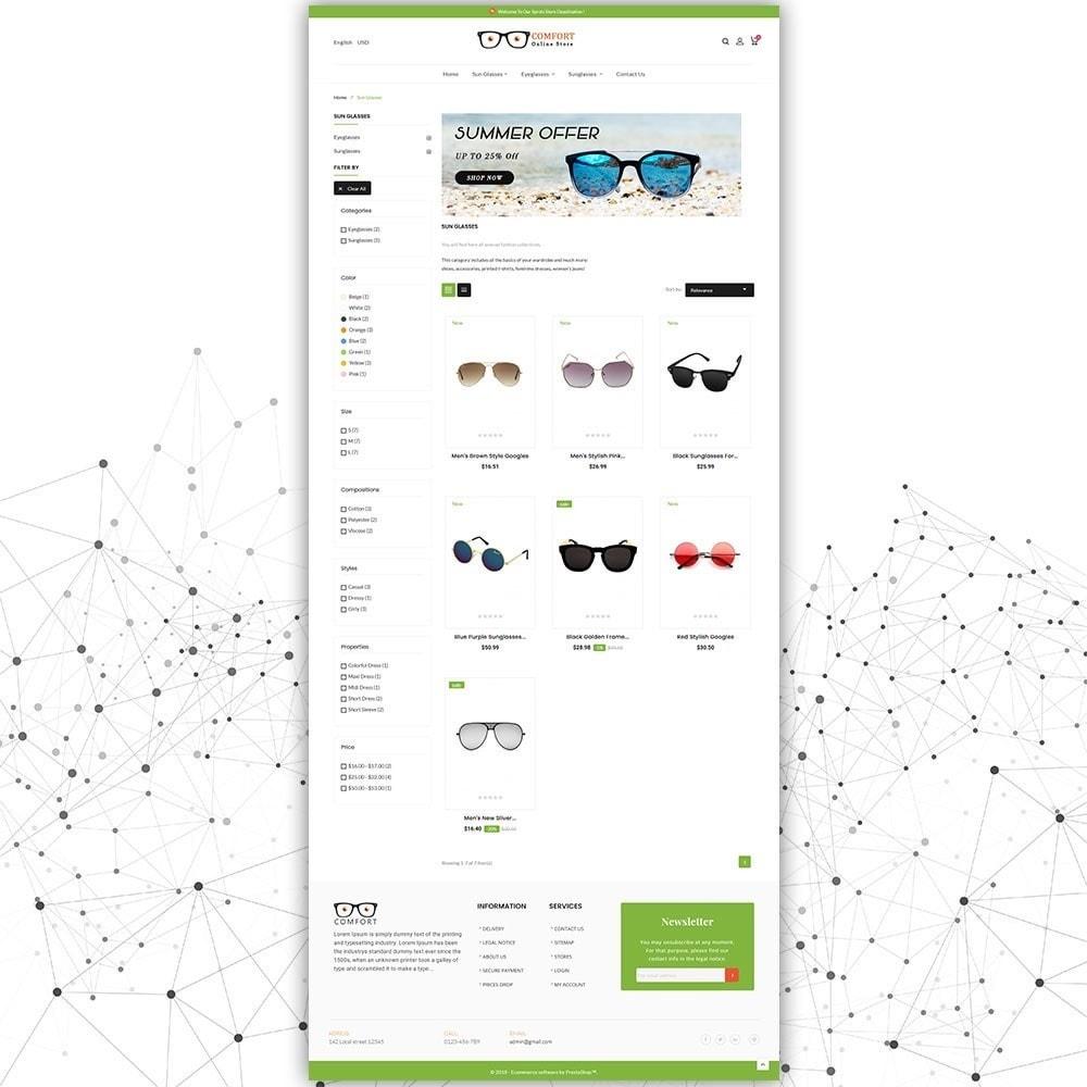 theme - Mode & Chaussures - Magasin de lunettes de soleil confort - 4
