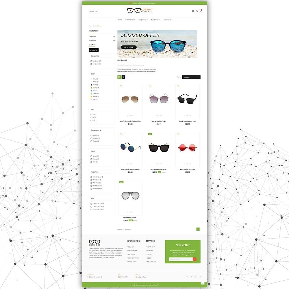 theme - Moda & Calzature - Comfort Sunglasses Store - 4